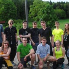 Bericht: Kletterwochenende für Jugendliche in der Fränkischen Schweiz, Mai 2016