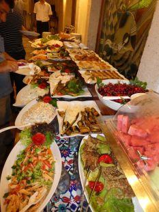 Abschiedsessen in Antalya nach einem grandiosen Wandererlebnis