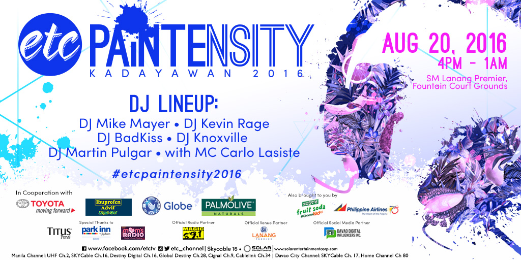 ETC Paintensity in Davao