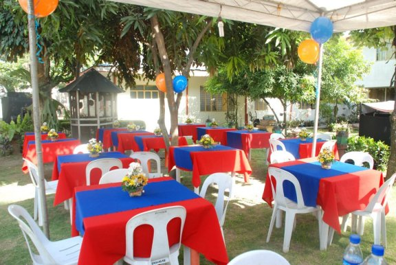 davao event coordinator -outdoor party by coastguard