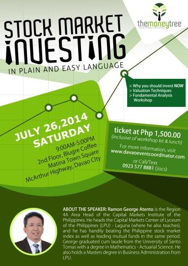 Davao stock market investing seminar