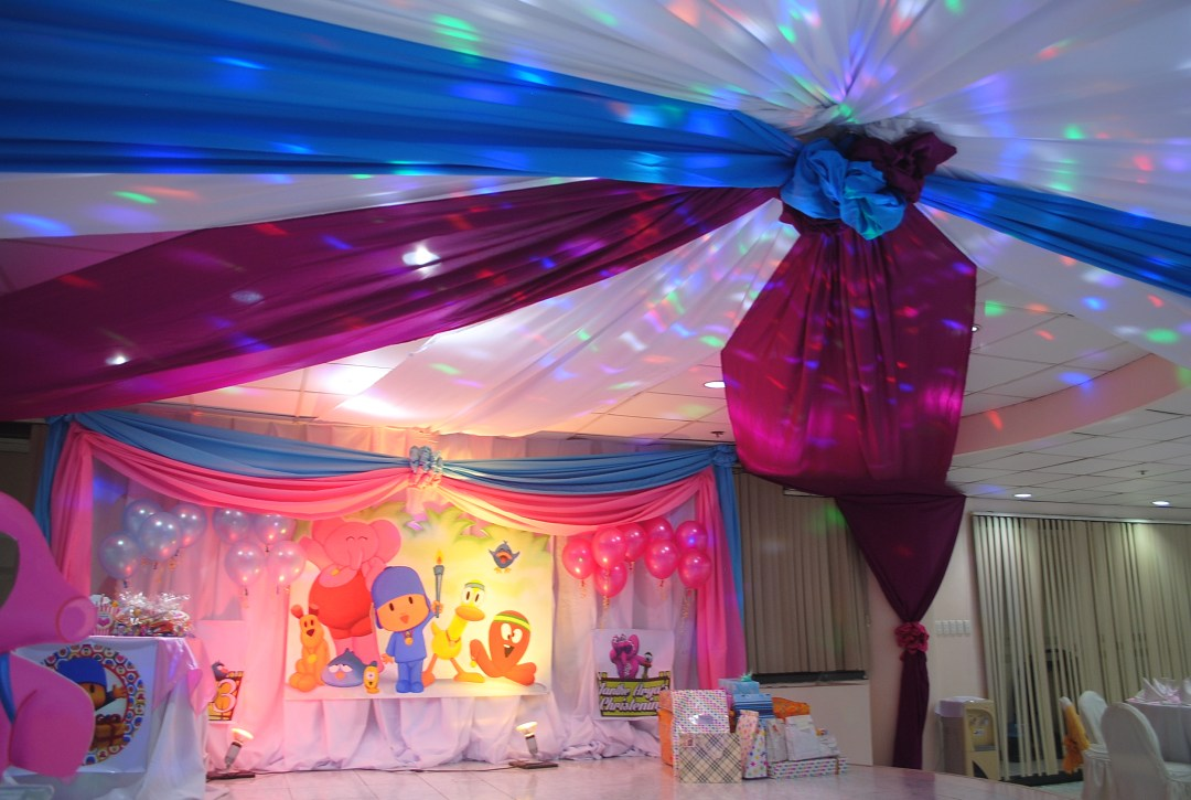 Pocoyo Kiddie Party by PREP