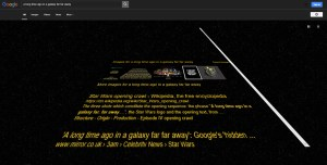 Star Wars Google Easter Eggs 3