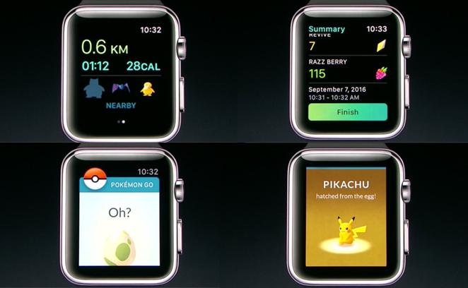 Apple Watch Series 2 Pokemon Go