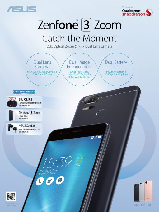 ZenFone 3 Zoom Philippine Launch Bundle
