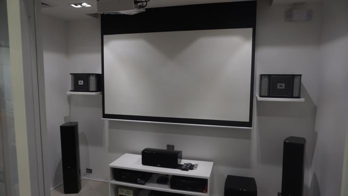 JBL Store theater room