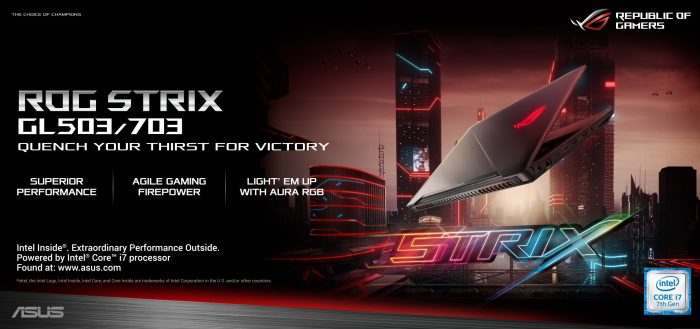 ROG Strix GL503 and 703
