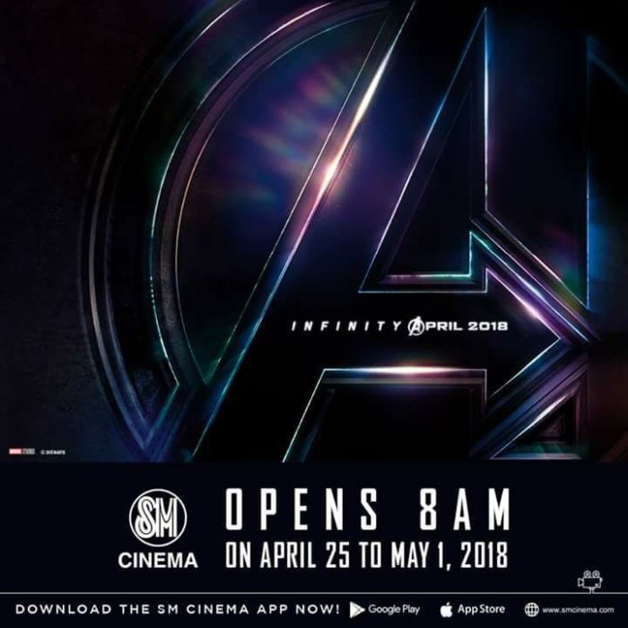 SM Cinemas Avengers Infinity War