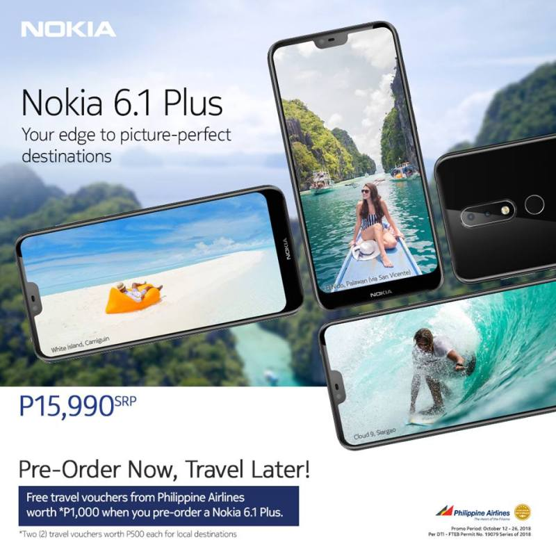 Nokia 6.1 Plus Pre-Orde Now, Travel Later 1