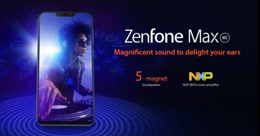 ZenFone Max M2 Audio