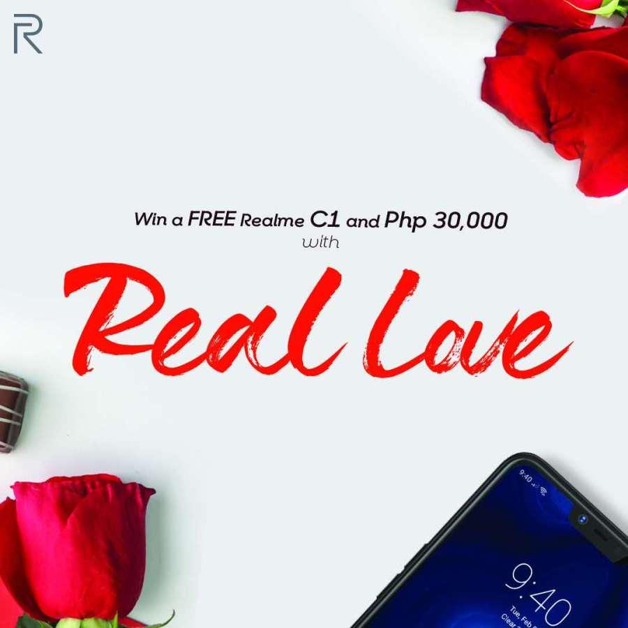 Realme Real Love Valentines Promo