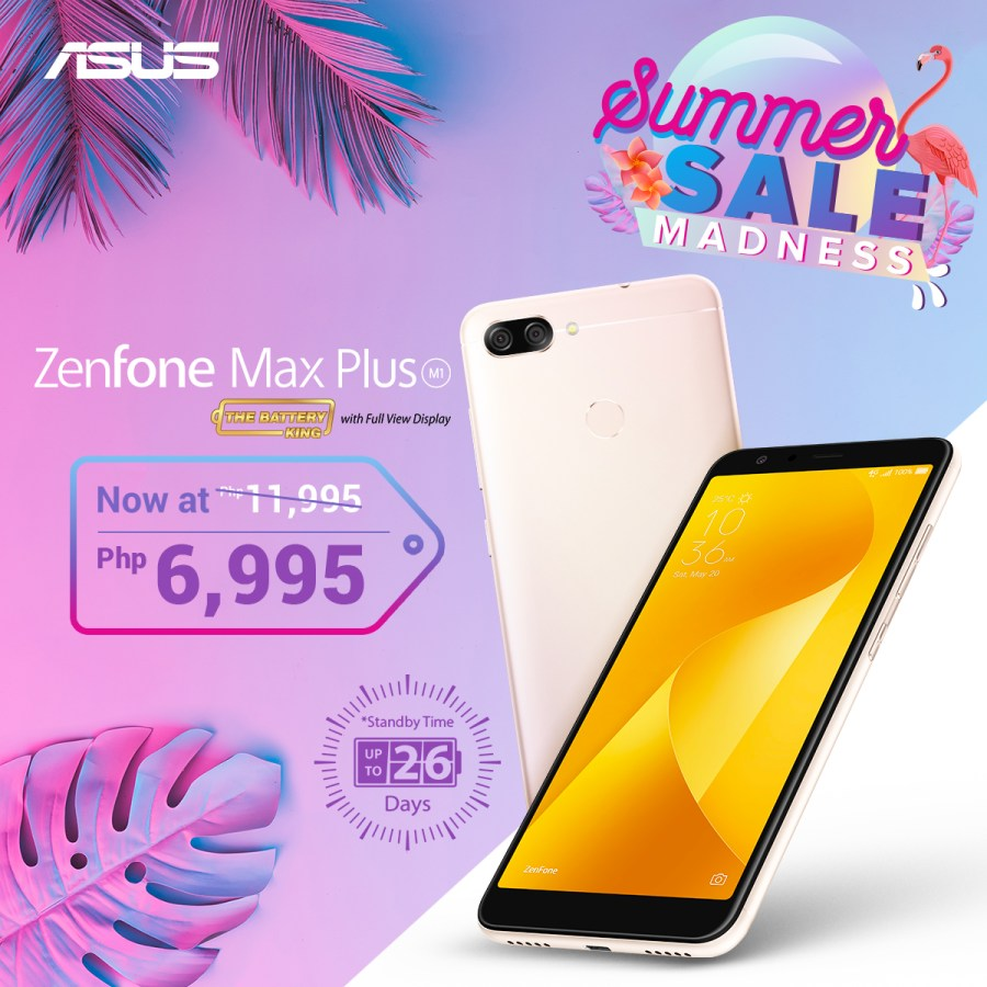 ZenFone Summer Madness Sale - ZenFone Max Plus M1