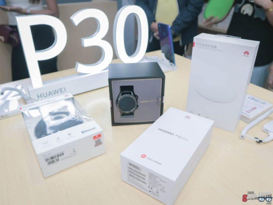 Huawei P30 Pro, P30, P30 Lite bundles