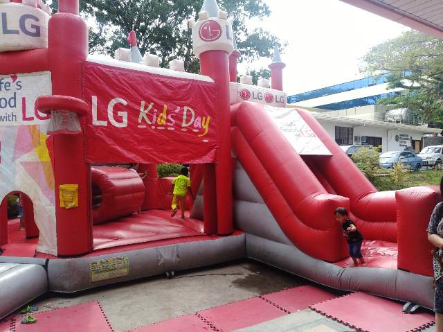 LG Inflatable Castle