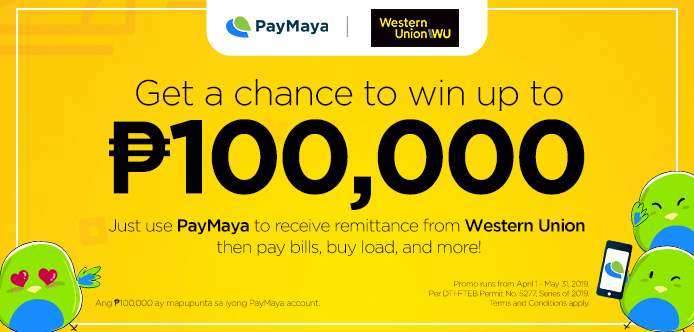 PayMaya x Western Union