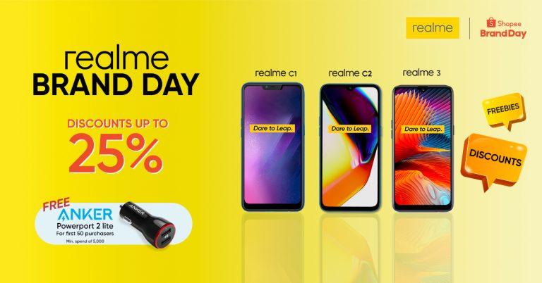 Shopee Brand Day x realme Flash Sale