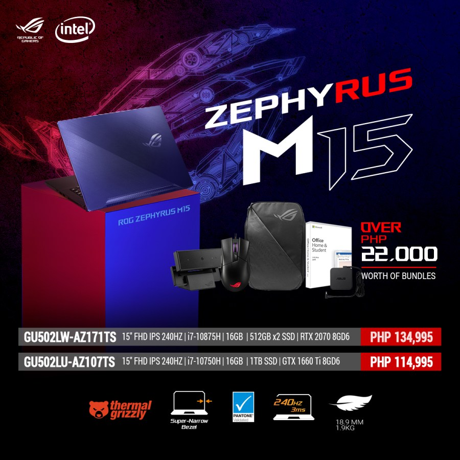 ROG Zephyrus M15 Rev