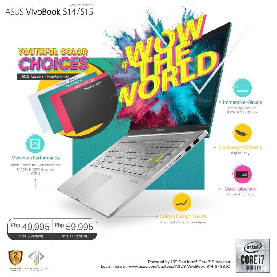 ASUS VivoBook S14 S433 Price