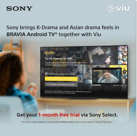 Sony BRAVIA Android TV x Viu Philippines
