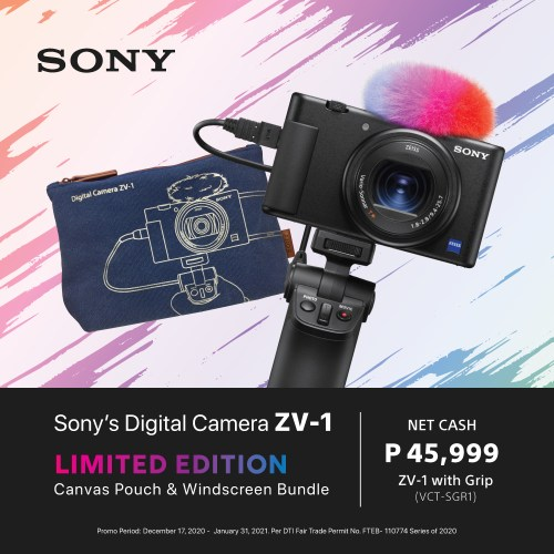 Sony ZV-1 promo