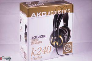 AKG k240 Studio Unboxing 1