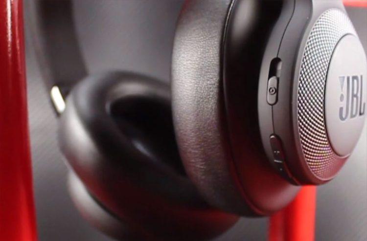 JBL E65BTNC buttons