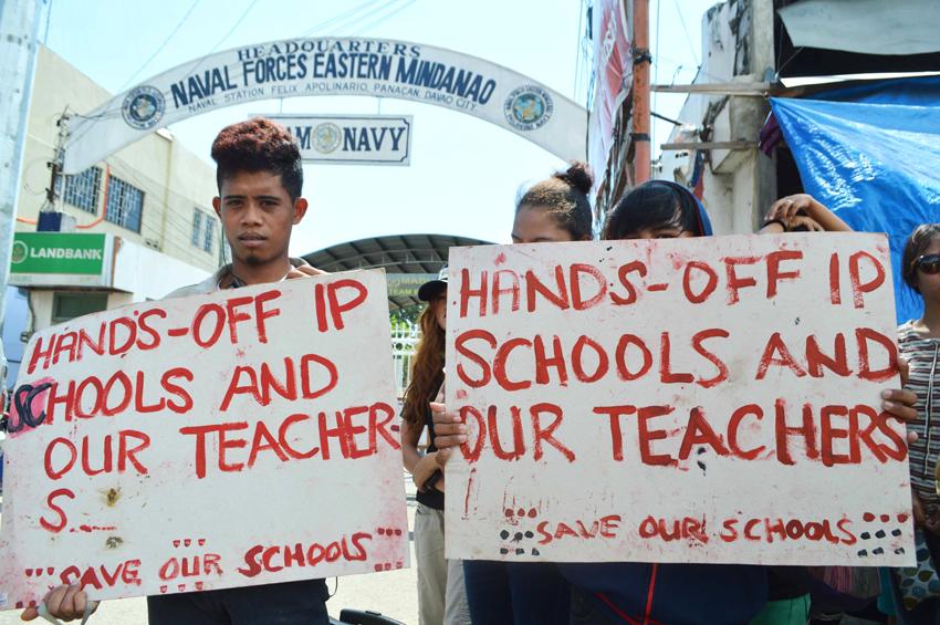 Attacks on Lumad schools continue | Davao Today