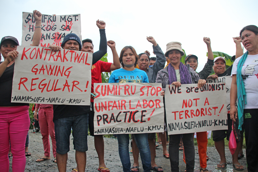SUMIFRU WORKERS ON STRIKE | Davao Today