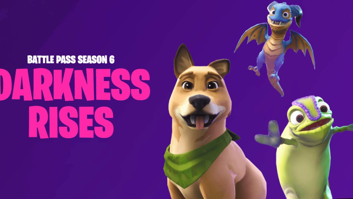 'Fortnite' Season 6 – Darkness Rises with new pets