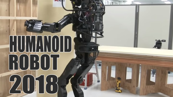 Humanoid Robot Replace Heavy Labor Work Soon?