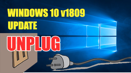 Microsoft Unplugged Windows 10 October Update due to issues