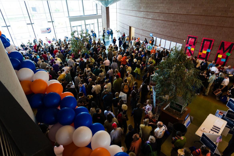 Long line of delegates to vote for Salt Lake County Mayor