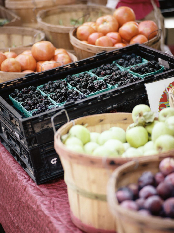 Fruit for sale at Salt Lake Farmers Market