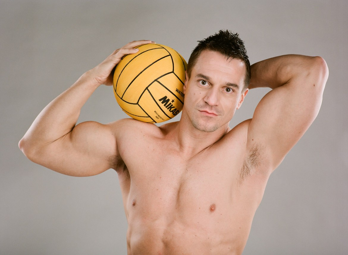 Jacob water polo portrait