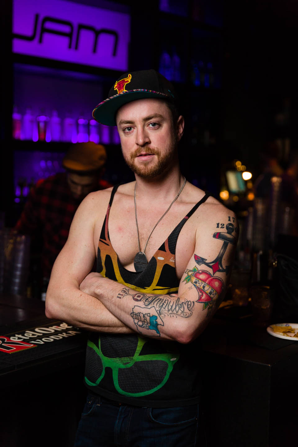 Gotta have tattoos if you're a bartender