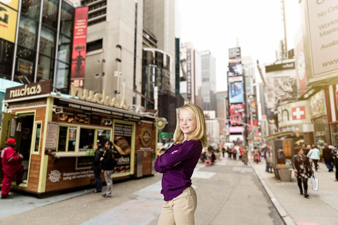 We added Julianne to New York City