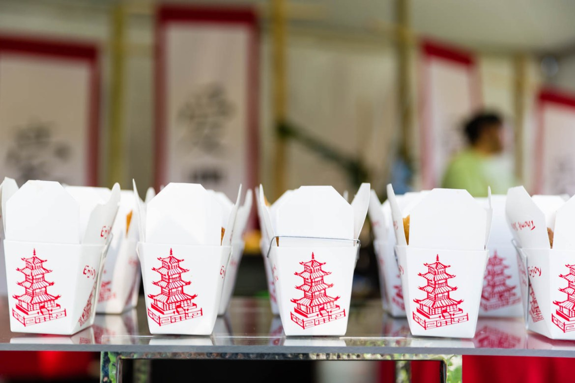Best way to eat Chinese food is Chinese Take Out Boxes