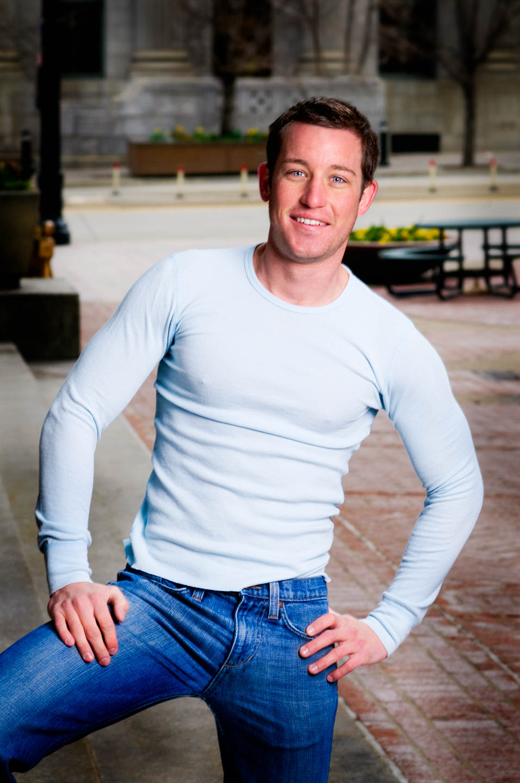 Drew builds his modeling portfolio