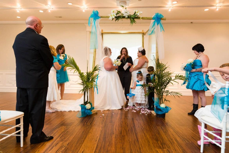 Gay Wedding ceremony in Utah