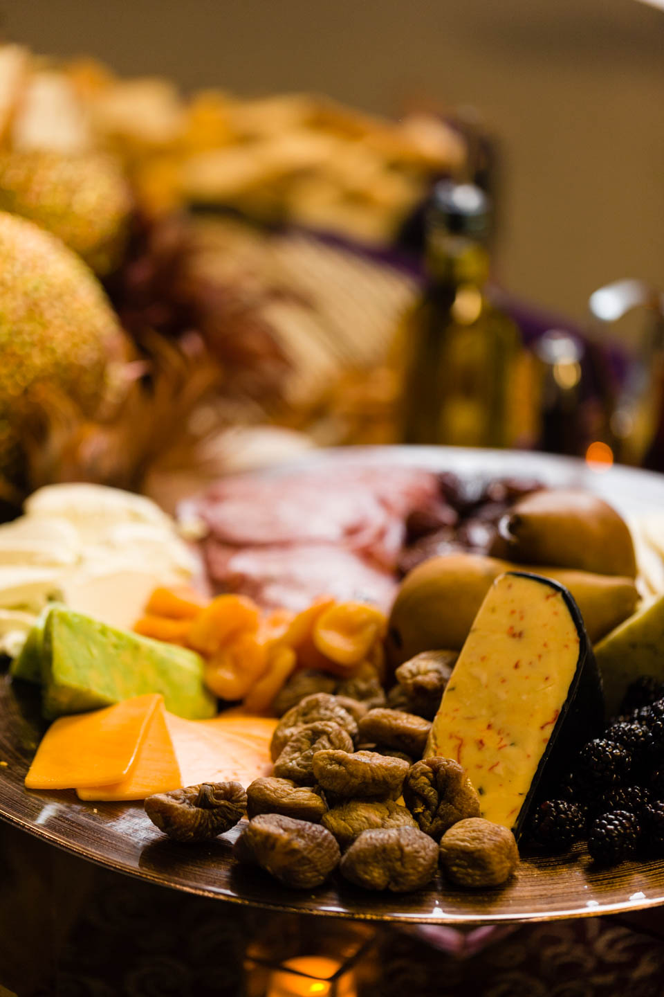 Cheeses and catering by Le Croissant Catering
