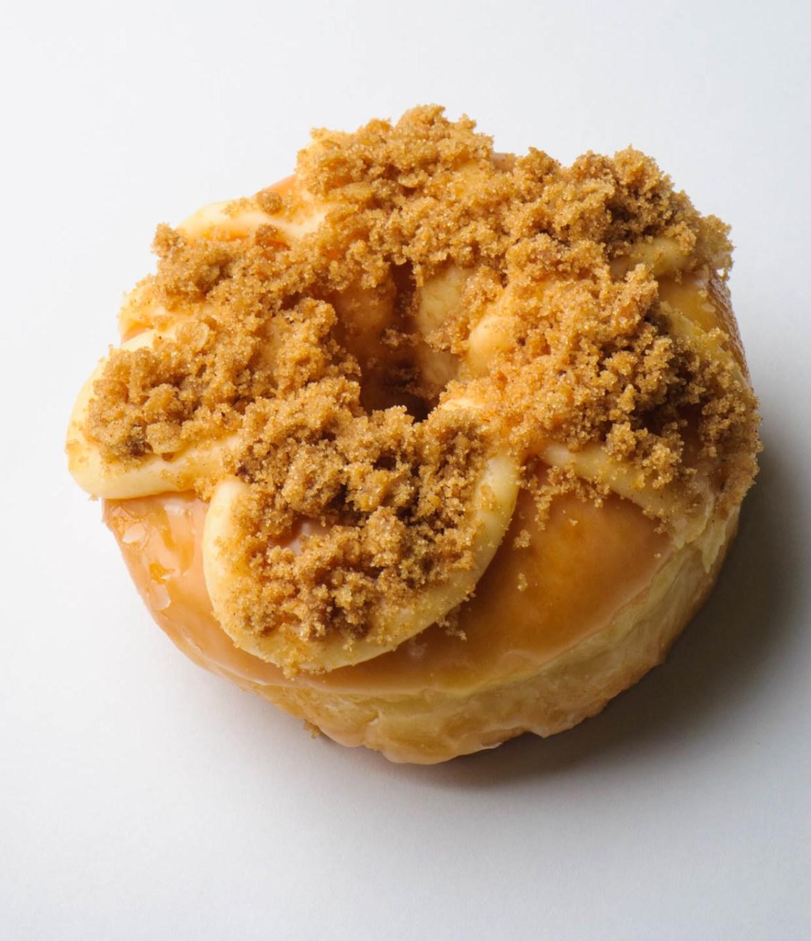 Cinnamon apple donut