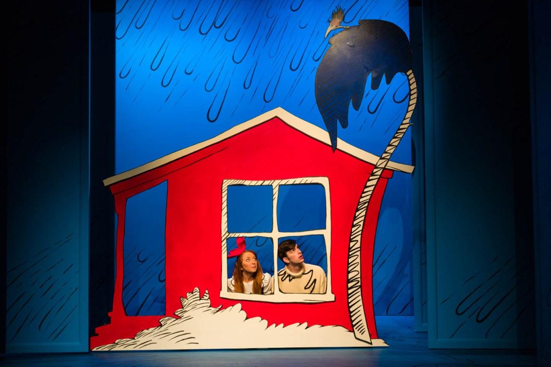 Sally and Conrad on a rainy day
