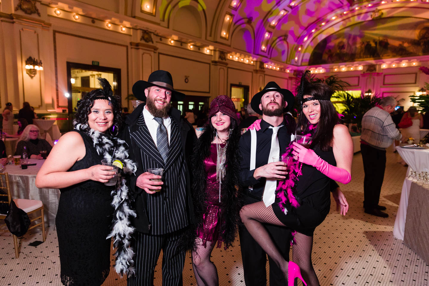 The Great Gatsby Themed Party At The Gateway S Grand Hall