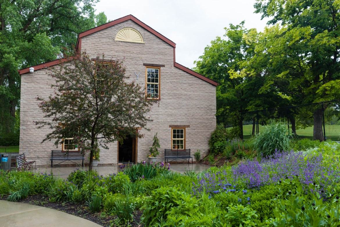 Chase Mill at Tracy Aviary  was the location for the wedding