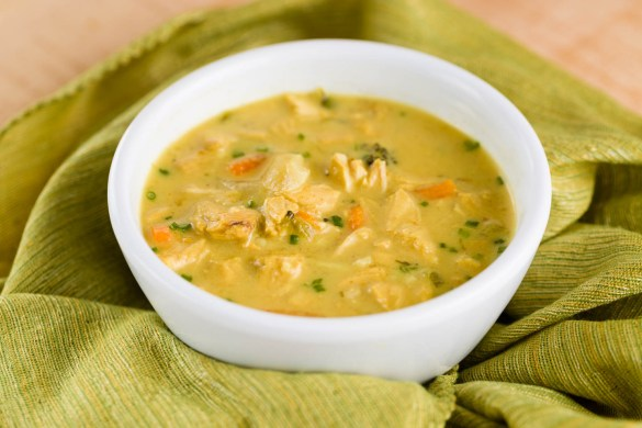 Curry Turkey Soup