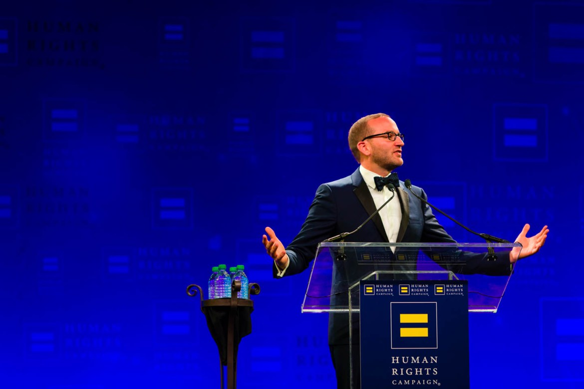 Chad Griffin, President of the Human Rights Commission