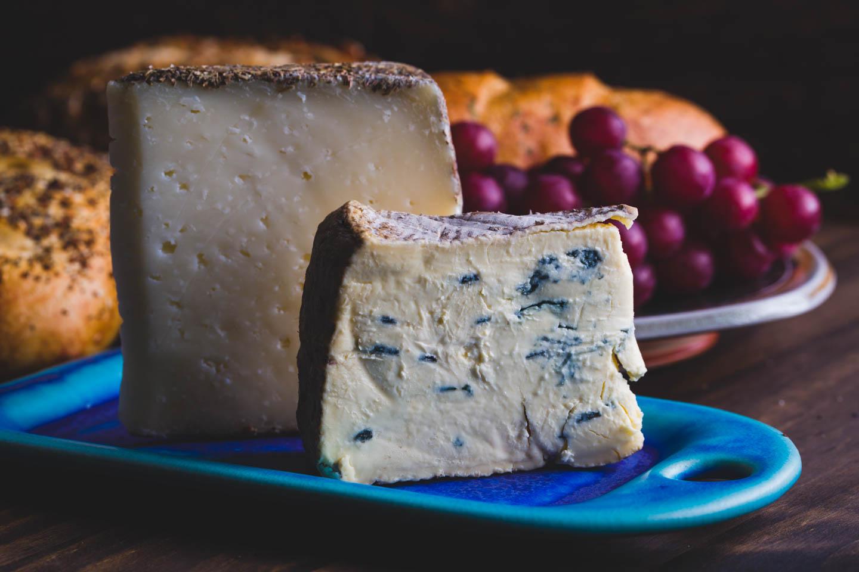 Cheese themed food photo shoot