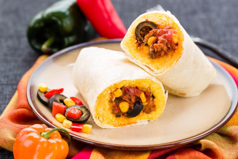 Arizona Tamale Pie Burrito