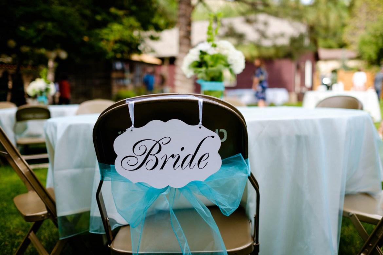 Bride decor