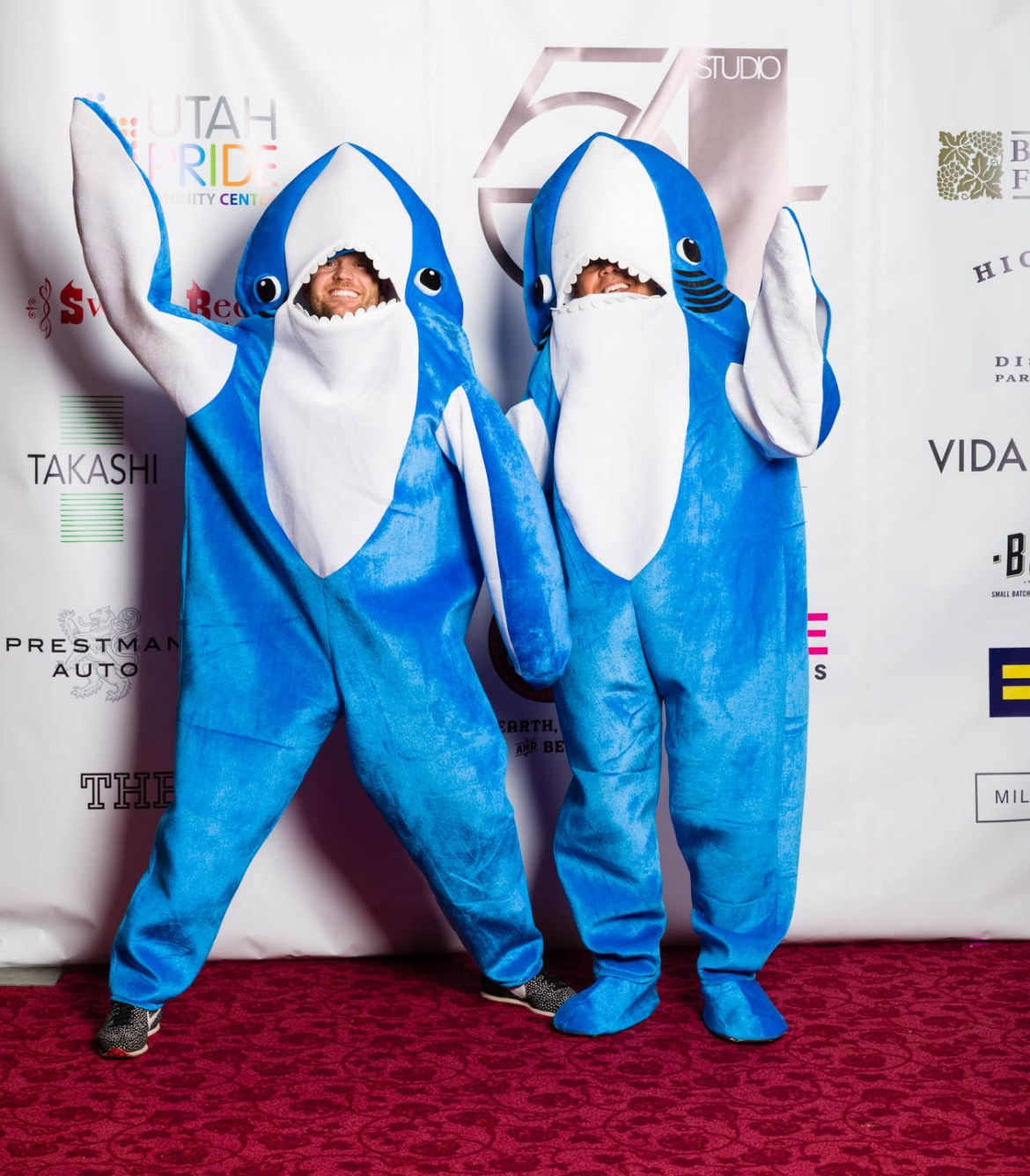 From the Superbowl it is Left Shark and Right Shark